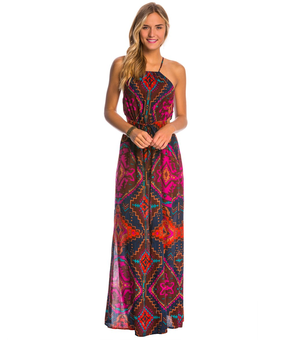 Billabong Native Sands Maxi Dress at SwimOutlet.com - Free Shipping