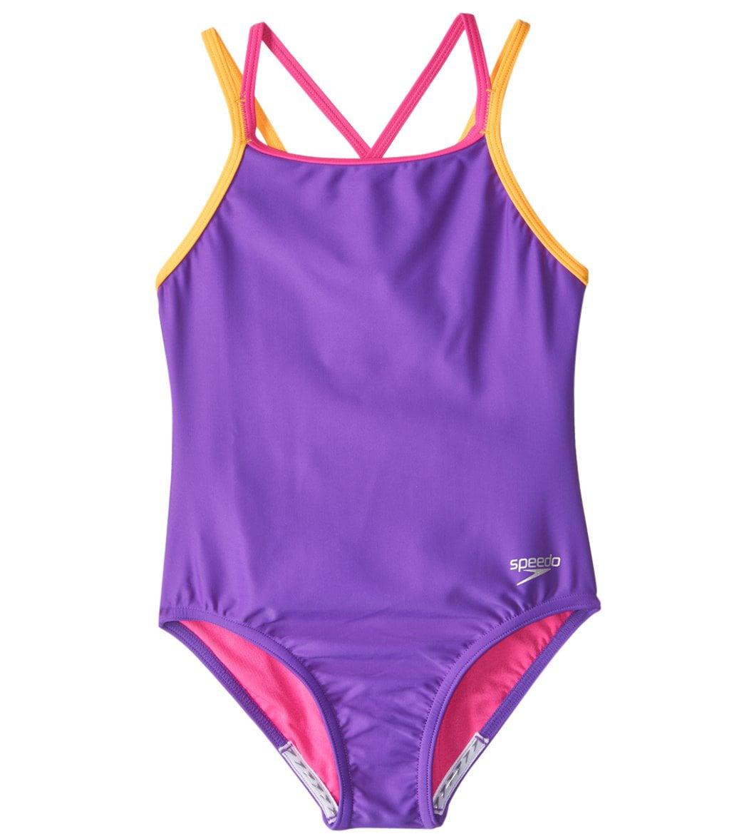 Girls' One Piece 7-16 Swimwear at SwimOutlet.com