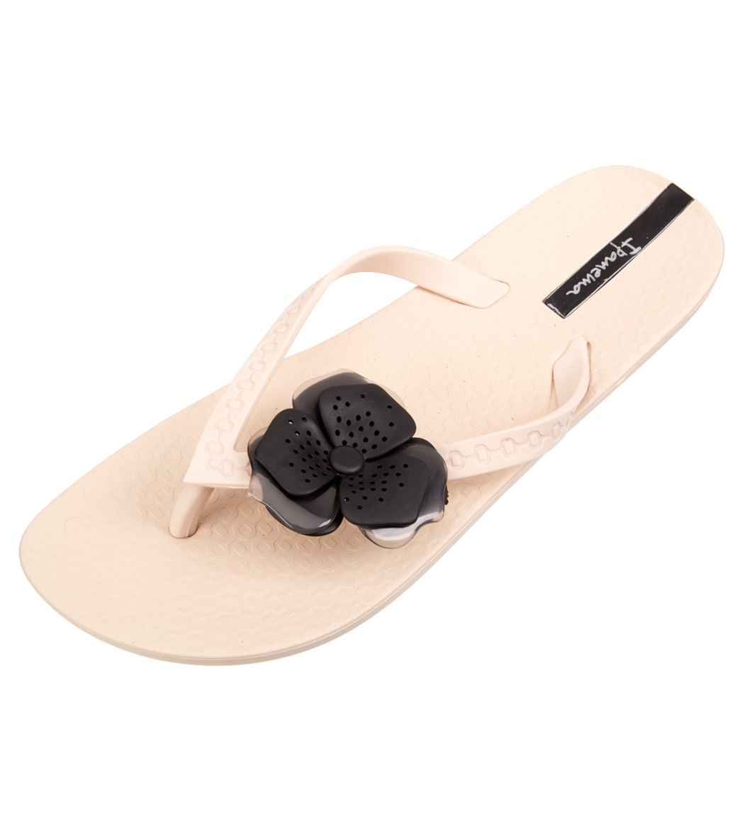 Ipanema Womens Neo Petal Flip Flop Beige Size 90