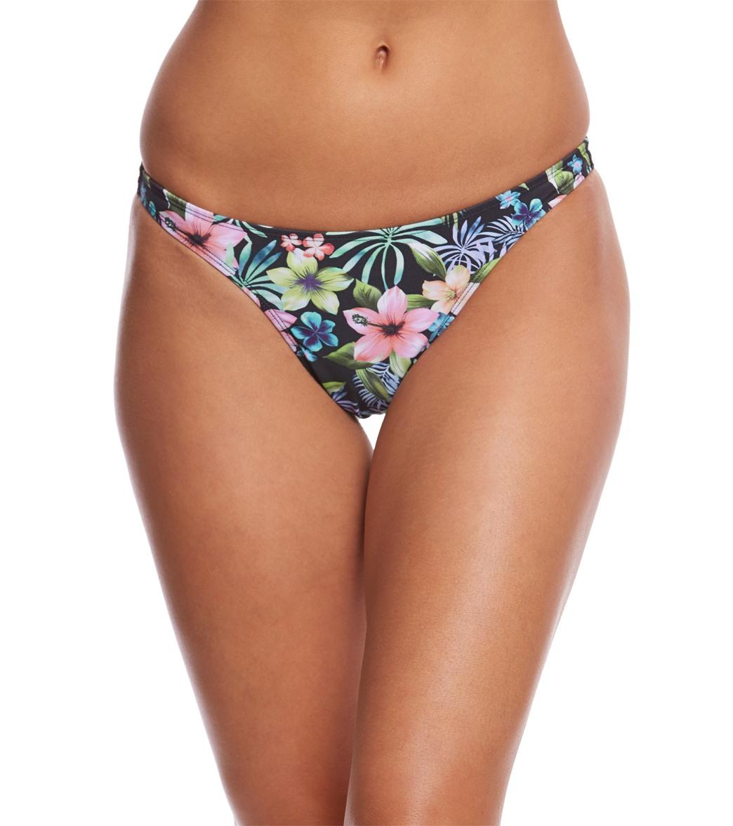 preeteens bikini Sporti Tropical Thong Bikini Swimsuit Bottom
