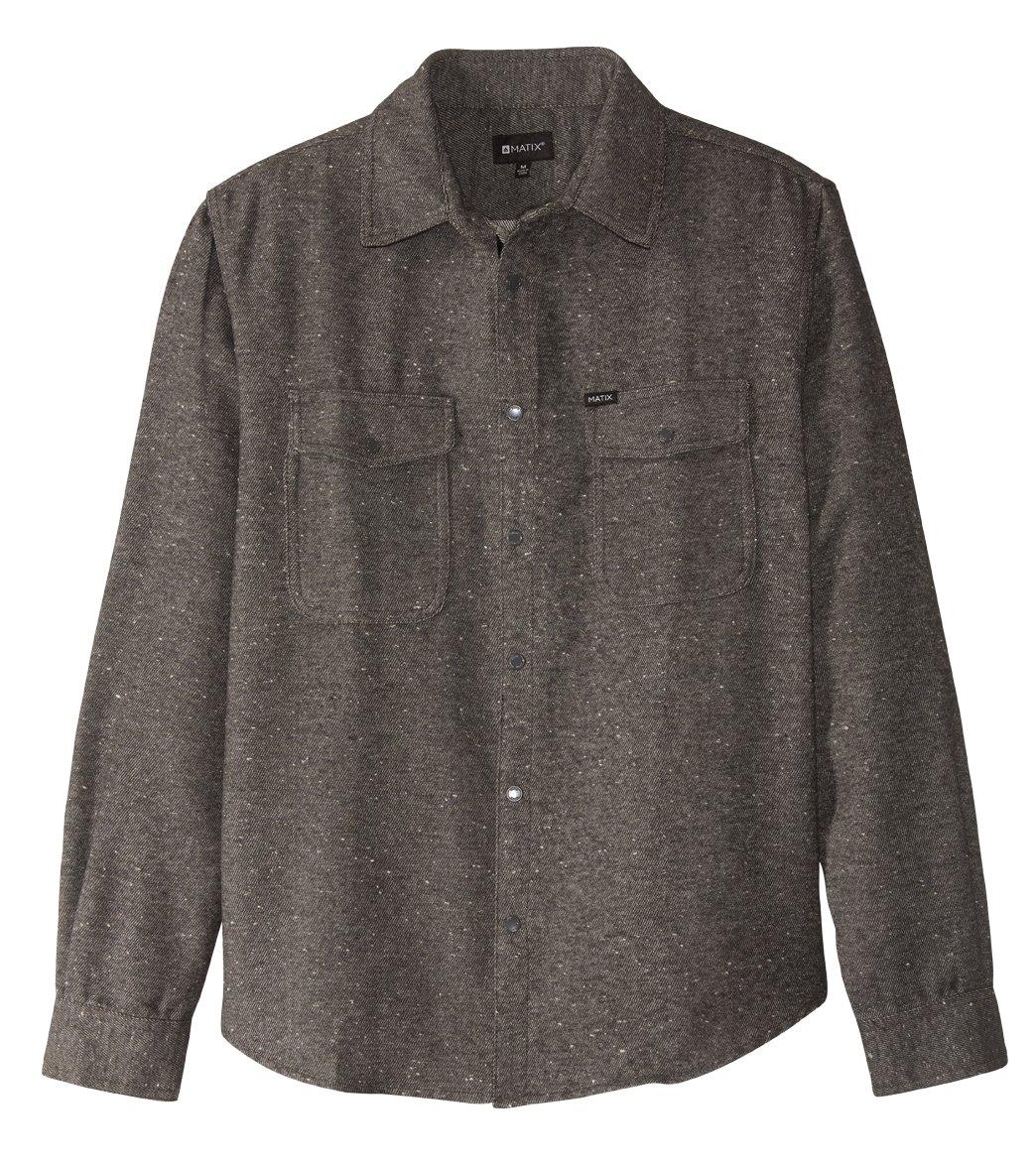Matix Men's Mendocino Long Sleeve Overshirt at SwimOutlet.com - Free  Shipping