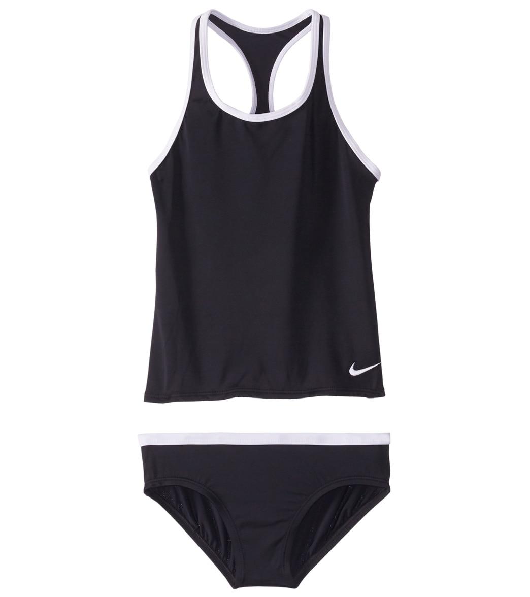 308a674b85d Girls' Nike Core Solid Racerback Two Piece Tankini Set (Big ...