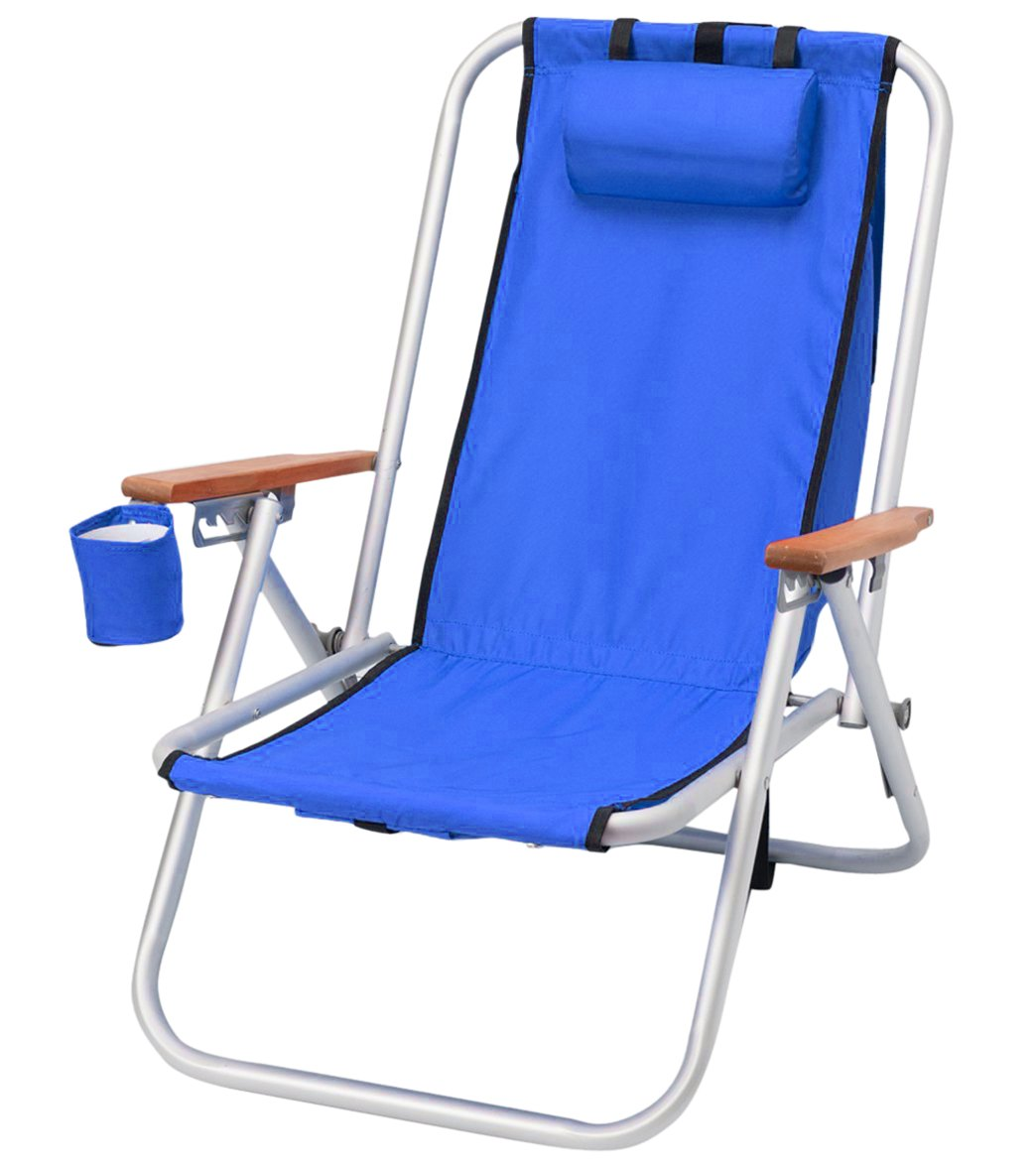 Wet Products WearEver HI Back Aluminum Backpack Beach Chair at – Deluxe Beach Chairs