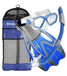 U.S. Divers Icon/SeaBreeze/ Proflex/Cbag Snorkel, Mask and Fin Set