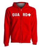 Sporti Guard Unisex Zip Hooded Sweatshirt