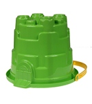 Wet Products Jumbo Castle Mold Bucket  2 Gallon