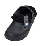 Crocs Kids Kid's Blitzen II Lined Clogs - Navy/Oatmeal - J3