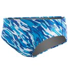 Speedo Team Camo Brief - Blue/Green - 32
