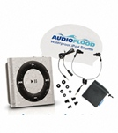 AudioFlood 2GB Waterproof iPod Shuffle Bundle (4th Gen) - Space Gray