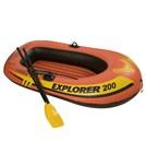 Intex 2 Person Explorer Boat Set w/ Pump & Oars