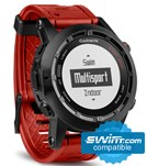 Garmin fenix 2 Special Edition - Red