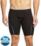 Speedo Men's LZR Racer X Jammer Tech Suit Swimsuit - Black - 26