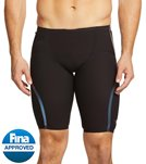 Speedo Men's LZR Racer X High Waist Jammer Tech Suit Swimsuit - Black - 26