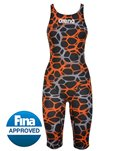 Arena Powerskin ST Limited Edition Full Body Short Leg Tech Suit - Black/Blue/Fuchsia - 28